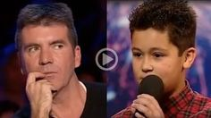 12 Year Old Boy Humiliates Simon Cowell