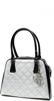 Bon Voyage Tote in Black and White Sparkle #Loveit