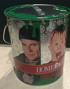Home Alone 25th Anniv Collection DVDs All 5 Movies Christmas Paint Can Ornament | eBay