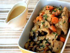 Receta Plato : Guiso de pollo a la antigua, receta francesa por Cocinaparaemancipados