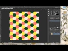 How To Create A Seamless Repeat For Spoonflower Using Adobe Illustrator & Photoshop - YouTube