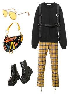"""Geen titel #48"" by mylavandervliet ❤ liked on Polyvore featuring Faith Connexion"