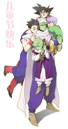 Aw piccolo is such a big softie.