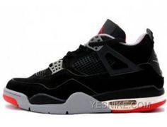 Nike Air Jordan 4 IV Laser Noir/ciment/Gris
