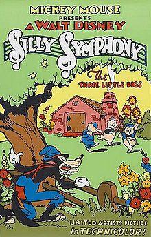 Walt Disney's Silly Symphony - Three Little Pigs (1933). Won the Academy Award for Best Short Subject: Cartoons. 1934. http://www.disneyshorts.org/shorts.aspx?shortID=187