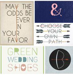 arrows in typography via design bright