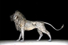 Istanbul-based Turkish sculptor Selçuk Yılmaz has constructed a 6-foot-tall, 10-foot-long majestic lion out of nearly 4,000 pieces of scrap metal that is aptly dubbed Aslan (Lion).