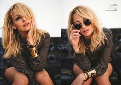 S.N.R: Nicole Dipped in Gold !!