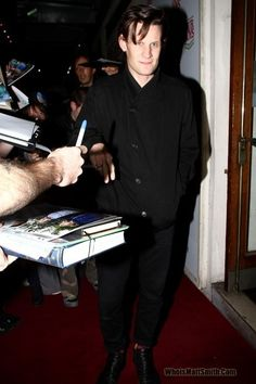 Our Boys Press Night 3rd October 2012 - Ourboys3Oct12pic003 - Who is Matt Smith?