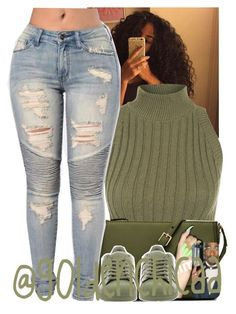 """Bac and I'm better 😉"" by g0ldenchicaa ❤ liked on Polyvore featuring WearAll, Elizabeth and James and adidas                                                                                                                                                                                 More"