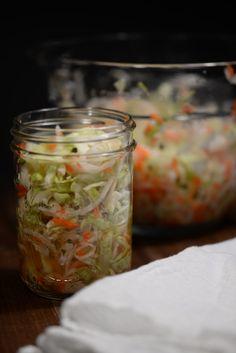 El Salvador Curtido (Cabbage Slaw)