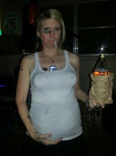 REDNECK Hillbilly Dirty Tank Top Hair Chest Beer Can Bottle Foam Cooler Holder