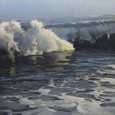 "Richard Johnson ""Eventide"" 48x48 oil on canvas"