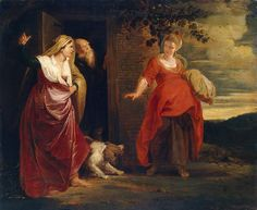 Hagar-Leaves-the-House-of-Abraham - Peter Paul Rubens/1609–1612 - Wikimedia Commons