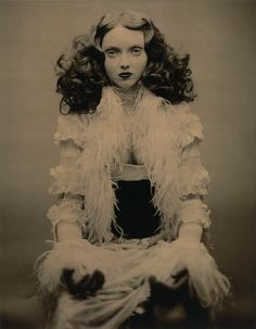 Model Lily Cole by Paolo Roversi.