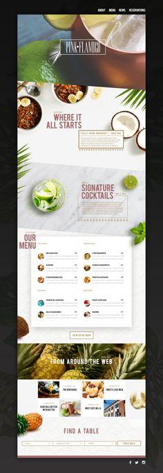 #webdesign, #restaurant, #typography, #branding, #identity, #layout, #design…