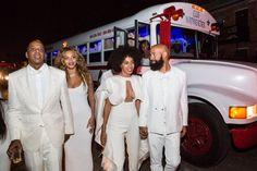 Pin for Later: Beyoncé und Jay-Z feiern Solange's Hochzeit