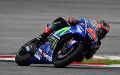 Lataa kuva Maverick Vinales, Yamaha Factory Racing, Movistar MotoGP, Yamaha yzr-M1, MotoGP