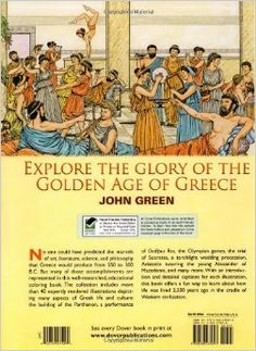 Life in Ancient Greece Coloring Book (Dover History Coloring Book): John Green, Text by Stanley Appelbaum, Coloring Books: 9780486275093: Am...