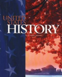 Bob Jones U.S. History Text Item #: BJ11222141 Retail Price: $50.00 Our Price: $37.50      Bob Jones US History Student Text, 3rd edition traces American history from the discovery of Europe to the 2000 election. Learn about the free-enterprise system and the structure of the US government.