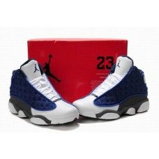 new product 66fc8 aefd6 Air Jordan 13 Flint French Blue University Blue Flint Grey On Sale,  Discount Air Jordan Shoes Air Jordan 13 77   Cheap Air Jordan 13 - Air  Jordan Shoes ...