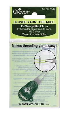 Clover Yarn Threader: Amazon.ca: Maison et Cuisine