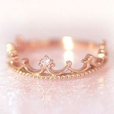 Platinum pink tiara, every Princess needs one.