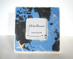 In Flight Picture Frame, for miniature images