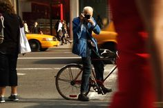 Bill Cunningham bicycle