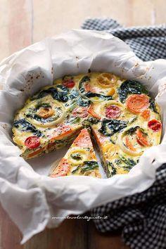 Frittata di Verdure al forno, la Ricetta leggera e gustosa
