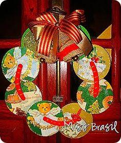 blog da aninha claro: enfeites de natal com cds