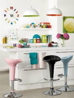 Eksplozija boja u kuhinji
