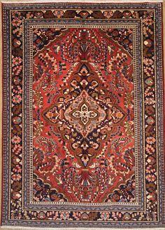 Lilian  Nomaden  Handgeknüpft  Perser Teppich Rugs  298 x 216 cm tapis orient
