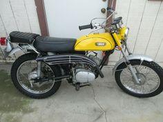 1971 YAMAHA CT1-C 175 VINTAGE MOTORCYCLE AD POSTER PRINT 24x36 STYLE B 9MIL