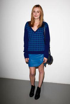 Laura Carmichael Mini Skirt - it's Edith!