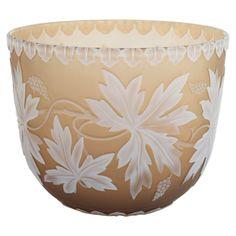 1stdibs.com | A Fine Unmarked Thomas Webb & Sons Cameo Glass Vase