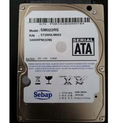 9.5mm HDD / ST2000LM003 2 TB notebook hard disk 2 t ps4 2.5 inch SATA II (3.0Gbs) serial port