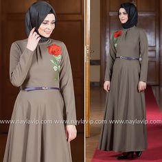 PUANE - DRESS - 4807Y #hijab #naylavip #hijabi #hijabfashion #hijabstyle #hijabpress #muslimabaya #islamiccoat #scarf #fashion #turkishdress #clothing #eveningdresses #dailydresses #tunic #vest #skirt #hijabtrends