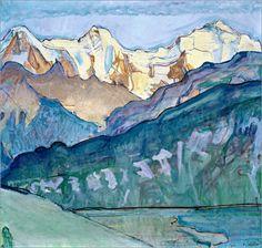 Ferdinand Hodler - Jungfrau, Mönch und Eiger