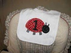 Ladybug Party - Ladybug Party Bib