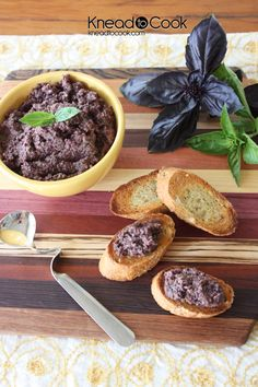 This olive tapenade is anchovy-free, yet packed with flavor. Get this and hundreds of side dish recipes on Honest Cooking.