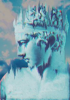 art, seapunk, and vaporwave image