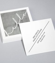 Ver plantillas de diseño de Tarjetas de Visita Cuadradas
