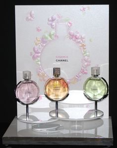 Rare Chanel CHANCE Display with 3 Factices CHANCE by AmazingBelle