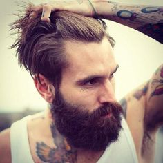 For a face and arms like that, I'd fight through that beard!