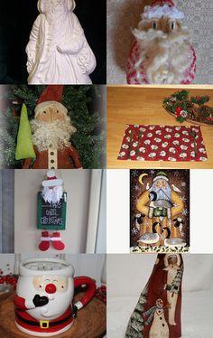 HO HO HO Here Come Santa Claus! by YorkiesPrimitives on Etsy--Pinned with TreasuryPin.com
