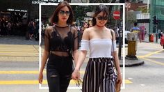 Erich Gonzales And Julia Barretto Are Street Style Stars In HK