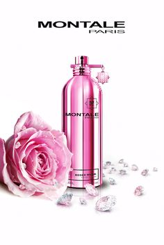 Aoud Greedy, Intense Cafe, Santal Wood, Candy Rose and Aoud Ever Montale. Practically every person who decides to change from safe and habitual CK, Guer. Perfume Store, Perfume Bottles, Mode Glamour, Top Perfumes, Perfume Scents, Beautiful Perfume, Smell Good, Rose, Packaging