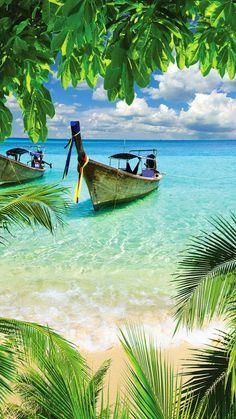 Tropical Beach In Curacao wallpaper Beach Pictures, Nature Pictures, Beautiful Pictures, Beautiful Nature Wallpaper, Beautiful Landscapes, Beautiful Places To Travel, Beautiful Beaches, Foto Picture, Ocean Wallpaper