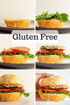 FINALLY a gluten free hamburger bun that is soft, bendable, and every bit as good as a regular wheat bun! In fact, we think you just might like it more 😉 Best Gluten Free Desserts, Gluten Free Recipes For Dinner, Dinner Recipes, Wheat Free Recipes, Bread Recipes, Gluten Free Hamburger Buns, Gluten Free Living, Food Test, Summer Recipes